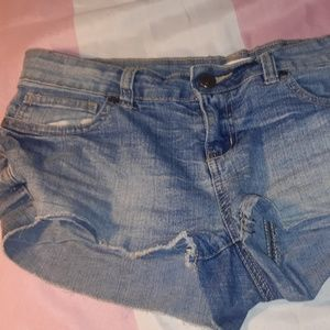 bluenotes distressed shorts